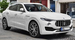 The Maserati Levante is an example of Luxury SUV