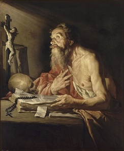 Saint Jerome by Matthias Stom