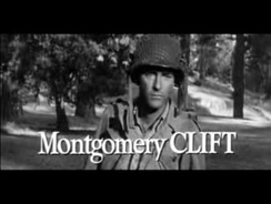 Clift in trailer from The Young Lions (1958)