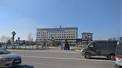 Здание Уренгойского Газопромыслового Управления ООО «Газпром Добыча Уренгой»