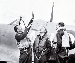 Norwegian fighter pilots in the United Kingdom during World War II