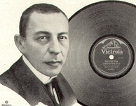 A Victor advertisement from March 1921 featuring Rachmaninoff