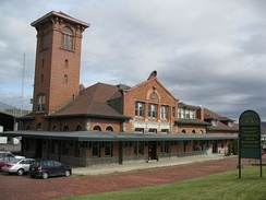 Former DL&W Station, part of the Railroad Terminal Historic District