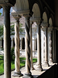 Cloister of the Basilica di San Giovanni in Laterano, Rome