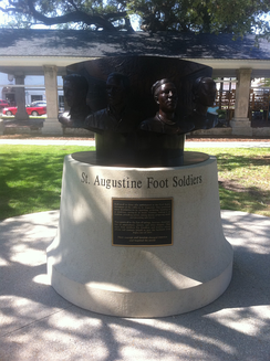 St. Augustine Foot Soldiers Monument, dedicated May 14, 2011