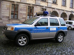Patrol car of the Ordnungsamt of the city of Fulda