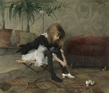 Helene Schjerfbeck (1862–1946)Dancing Shoes, 1882
