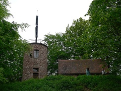 A Chappe semaphore tower near Saverne, France