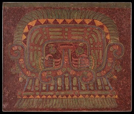 A wall painting in Teotihuacan