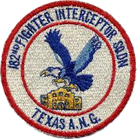 182d Fighter-Interceptor Squadron - Emblem