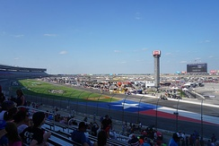 Interior view of Texas Motor Speedway