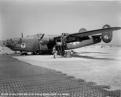 B-24 of the 376th Bomb Group, Italy, 1944