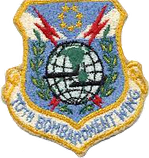 70th Bombardment Wing Patch