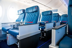 First class on a Delta A220-100