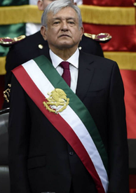 President López Obrador, after rendering constitutional protest as head of the executive in December 2018