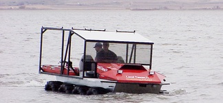 Land Tamer amphibious 8x8 remote access vehicle