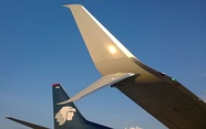 Blended Winglet, standard on NGs, a retrofit option for Classics