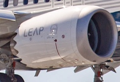 Nacelle with chevrons for noise reduction