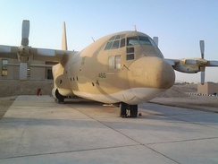 C-130 at the Royal Saudi Air Force Museum