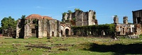 Monasterio de San Francisco in Santo Domingo, Dominican Republic, was the first and oldest monastery built in the Americas.[5]