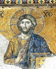 Mosaic of Christ Pantocrator from Hagia Sophia