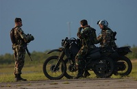 Combat Controllers practice seizing an airfield