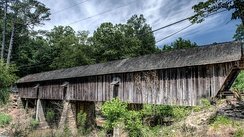 Concord Covered Bridge, Smyrna, Georgia, USA