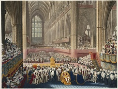 George IV's coronation, 19 July 1821