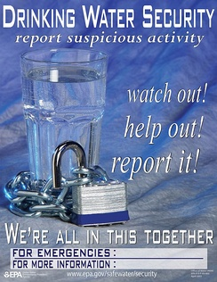 EPA drinking water security poster from 2003