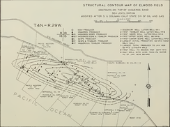 Elwood Oil Field Structure Map