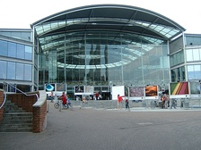 The Forum, where BBC East has been based since 2003.