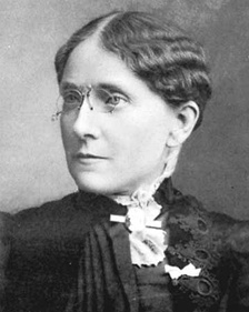 Frances Willard was president of the Woman's Christian Temperance Union for 19 years.