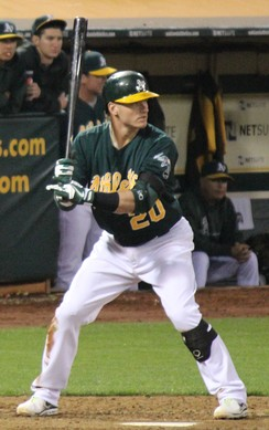 Donaldson with the Oakland Athletics in 2013