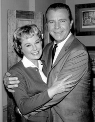 June Allyson and Dick Powell in 1962