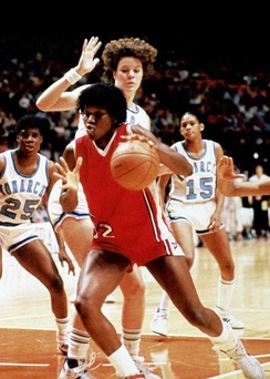 Katrina McClain, former UGA women's basketball player and Olympic gold medalist