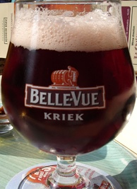 Kriek, a variety of lambic aged with cherries