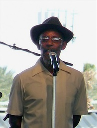 Poet Linton Kwesi Johnson