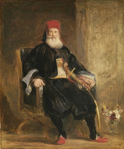 A portrait of Muhammad Ali of Egypt by David Wilkie (1841).