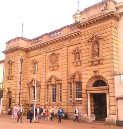 Northamptonshire Central Library in Abington Street
