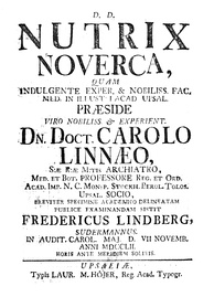 Cover of Nutrix Noverca (1752)