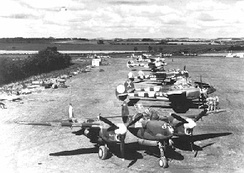 P-38s of the 370th Fighter Group