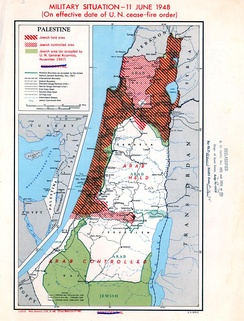 Palestine Military Situation, June 11, 1948. Truman Papers