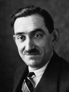 Philippe Henriot in 1934, who later became a Vichy minister and broadcaster for the Nazis.
