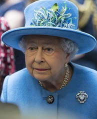 Elizabeth II in November 2015, two months after she became the second longest reigning monarch in Canadian history.