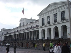 Palacio de Carondelet, the executive branch of the Ecuadorian Government