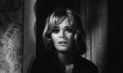 Letícia Román in The Girl Who Knew Too Much (1963), considered by most critics to be the first giallo film.