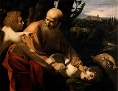 Sacrifice of Isaac, by Caravaggio.
