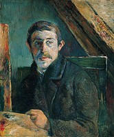 Paul Gauguin, Self-Portrait, 1885