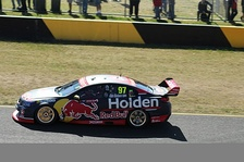 2017 Holden Commodore #97 of Shane van Gisbergen of the Red Bull Holden Racing Team