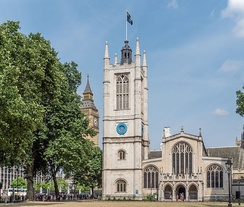 Churchill and Clementine were married at St Margaret's in Westminster.